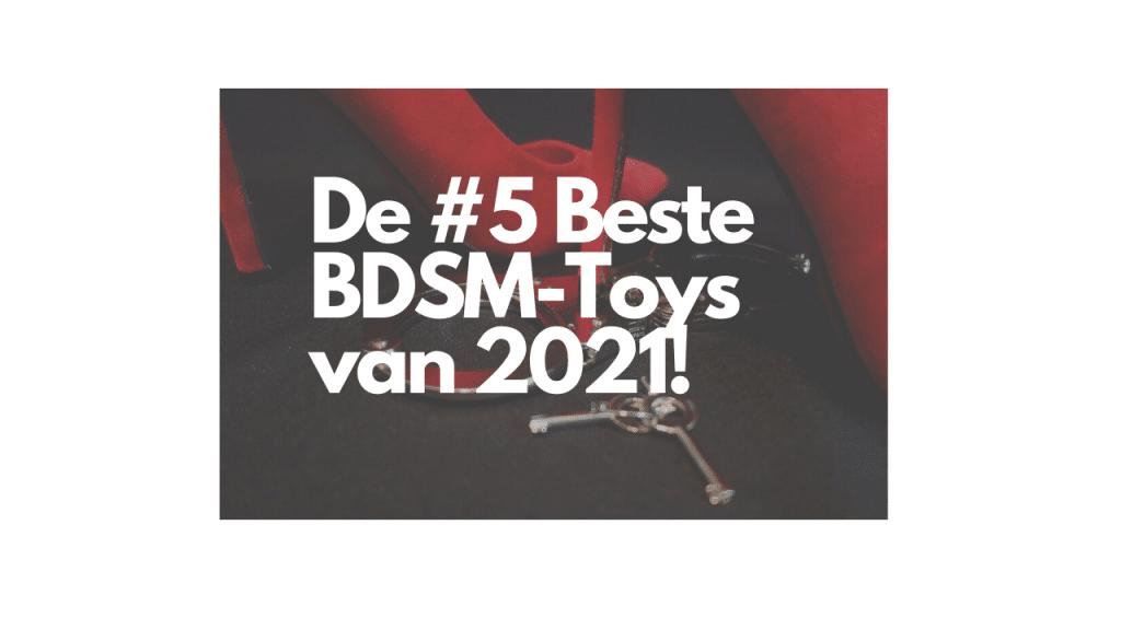De #5 Beste BDSM-Toys van 2021!